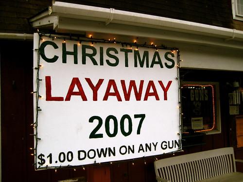 $1.00 Down on Any Gun