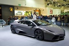 lamborghini murciã©lago(0.0), automobile(1.0), lamborghini(1.0), wheel(1.0), vehicle(1.0), performance car(1.0), automotive design(1.0), lamborghini(1.0), auto show(1.0), lamborghini reventã³n(1.0), land vehicle(1.0), luxury vehicle(1.0), supercar(1.0), sports car(1.0),