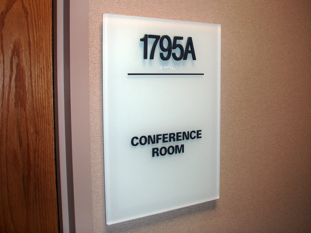 Interior room id and ada signs produced and installed in - Ada interior signage requirements ...