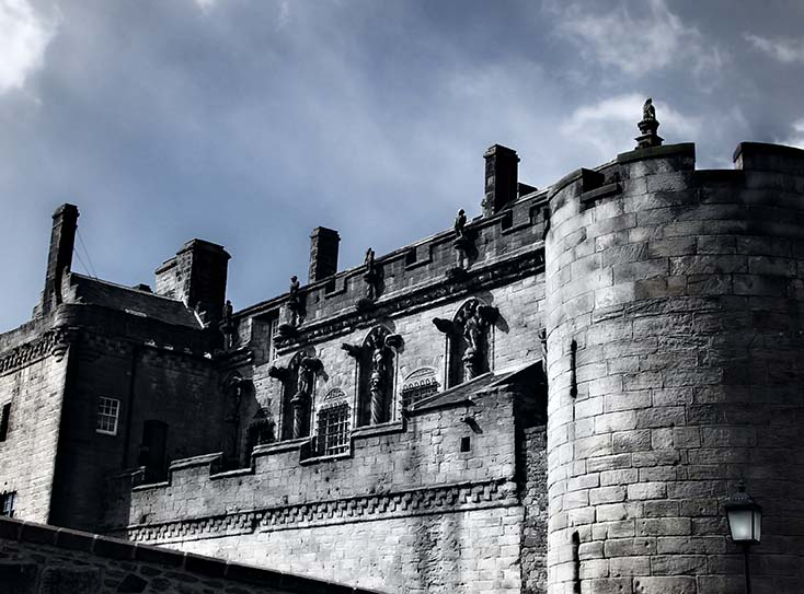 Photography - Stirling Castle Front by Nicholas M Vivian