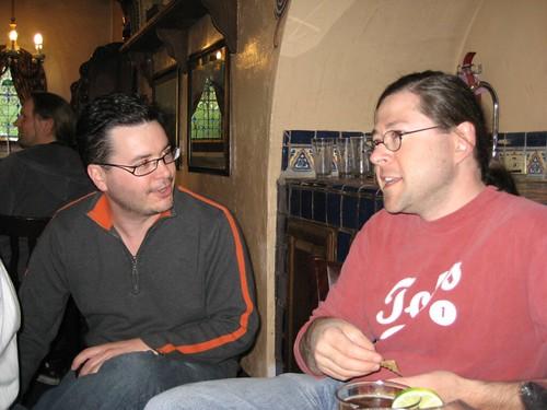 Paul Vallee (Pythian), Jonathan Schwartz (Sun)