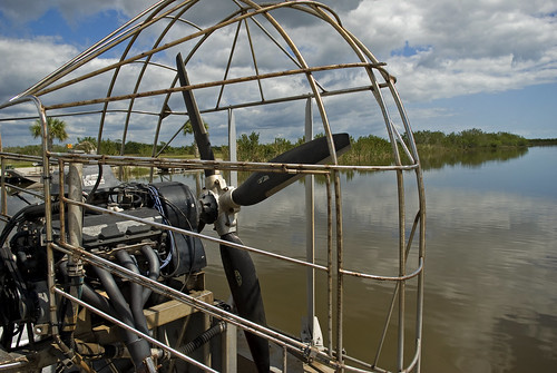 air boat in the Everglades by Alida's Photos