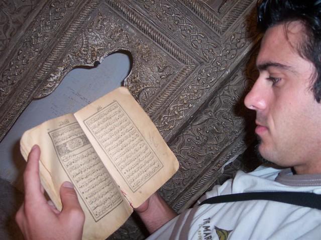 Lo entiendo nada de los libros de las mezquitas ... pero son pintorescos :) konya - 2513489644 e31e701872 z - Konya, el cinturón religioso de Turquía
