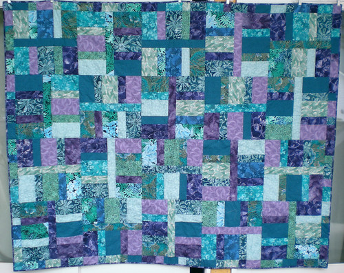 Finished - Camp Korey quilt by Misha Misha Misha