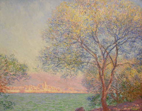 Claude Monet: Morning at Antibes (1888)