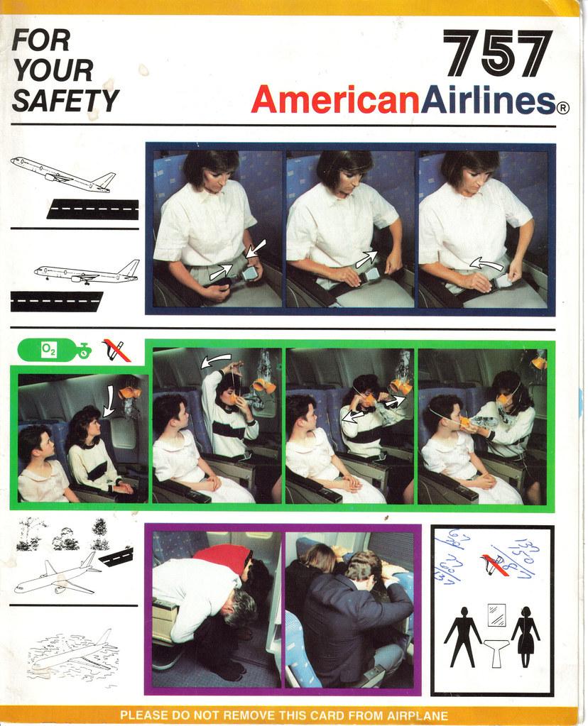 American Airlines 757 1 Tarjeta De American Airlines De