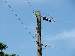 electrical supply, overhead power line, line, electricity, sky,