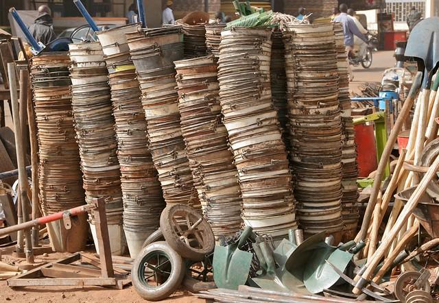 Finished Goods, the Bamako Recycling Market
