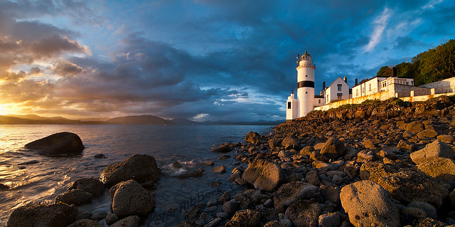 Cloch lighthouse 8-5-11