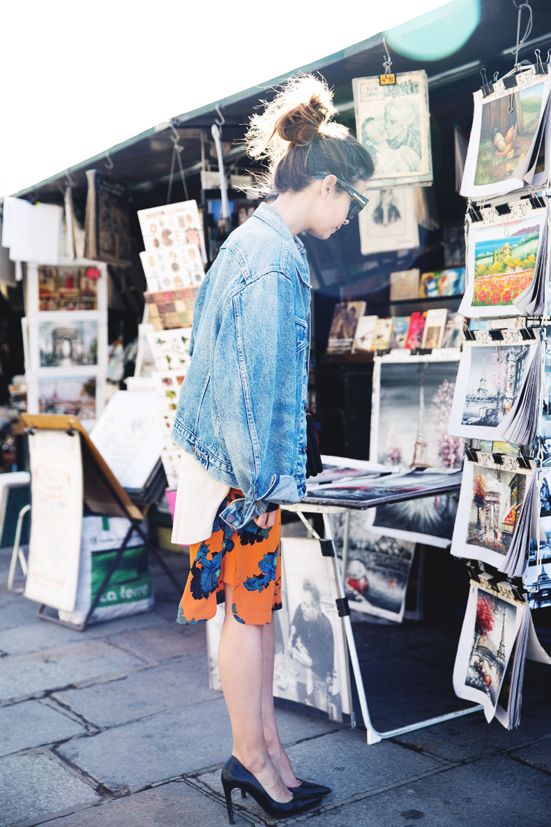 floral_skirt-topshop-orange-denim_jacket-street_style-pfw-outfit-karen_walker-celine-trio_bag-13floral_skirt-topshop-orange-denim_jacket-street_style-pfw-outfit-karen_walker-celine-trio_bag-14