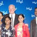 With CEO of Intel