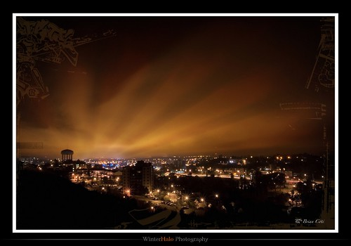 longexposure ontario canada night photoshop photography haze glow nightscape nightshot manipulation sudbury alpha a100 cz1680