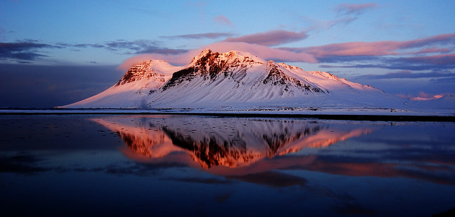 Bjarnarhafnarfjall in Iceland