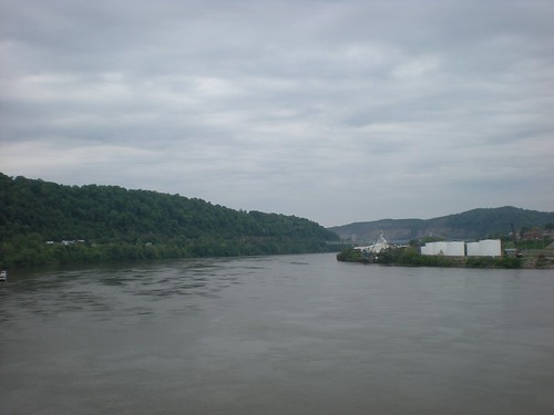 mountains river cloudy chester wv westvirginia overlook ohioriver chesterwv