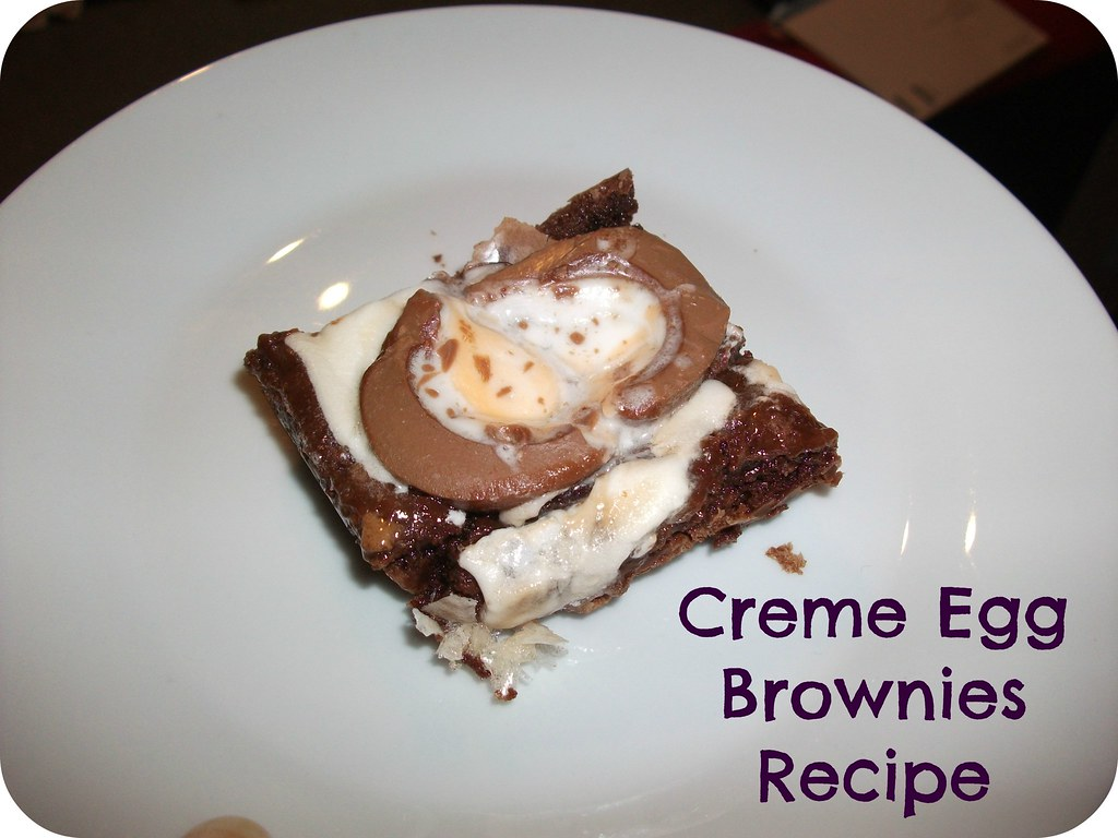 Creme Egg Brownies Recipe