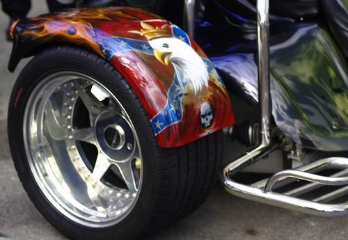 Harley-Davidson Custom Painted Trike