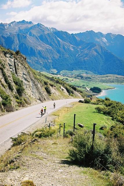 West Coast Escape Cycle Tour South Island 2004