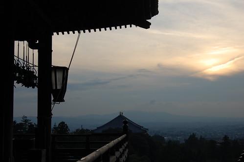 Sunset from Nigatsudo