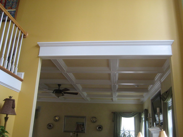 Foyer Interior Kit : Coffered ceiling kits picture of a