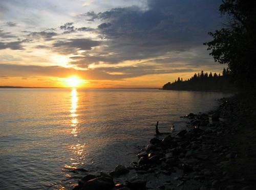 sunset on sylvan lake alberta canada flickr photo. Black Bedroom Furniture Sets. Home Design Ideas