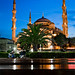 Blue Dawn over The Blue Mosque by iKhalid