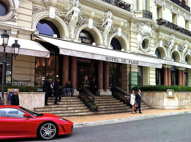 Monaco monte carlo hotel de paris grand prix photo for Prix des hotels a paris