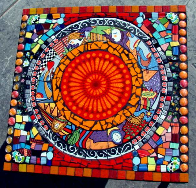 Table Mosaic Patterns: A Gallery On Flickr