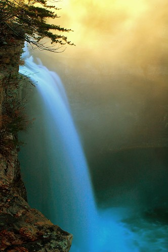 nature water misty sunrise waterfall alabama desotofalls bamawester napg