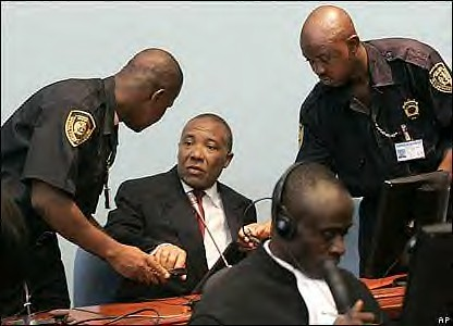 Charles Taylor was put on trial in the Hague Court. He was charged with war crimes against humanity for his role as the head-of-state in Liberia. He was found guilty on April 26, 2012. by Pan-African News Wire File Photos