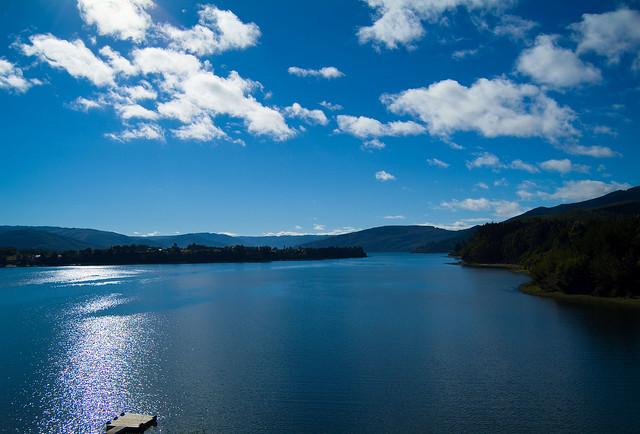 Lago  Lanalhue  ( CHILE)