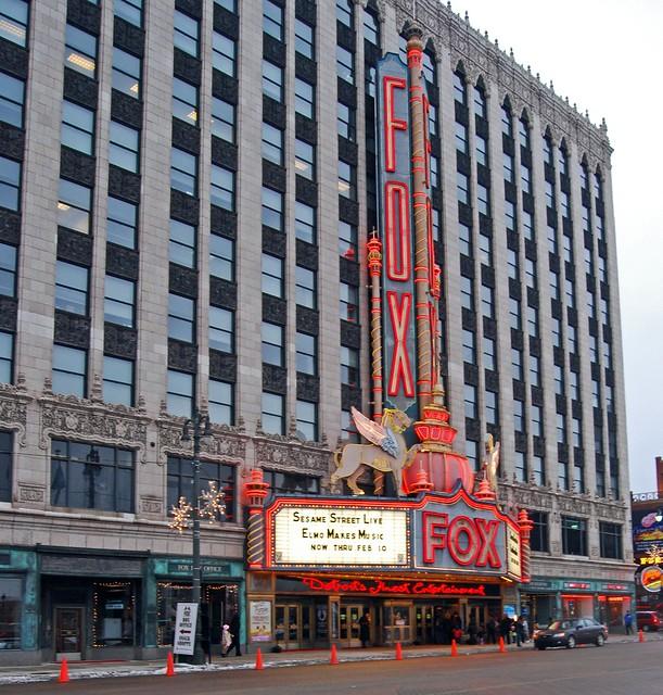 Fox Theater Mi: A Photo On Flickriver
