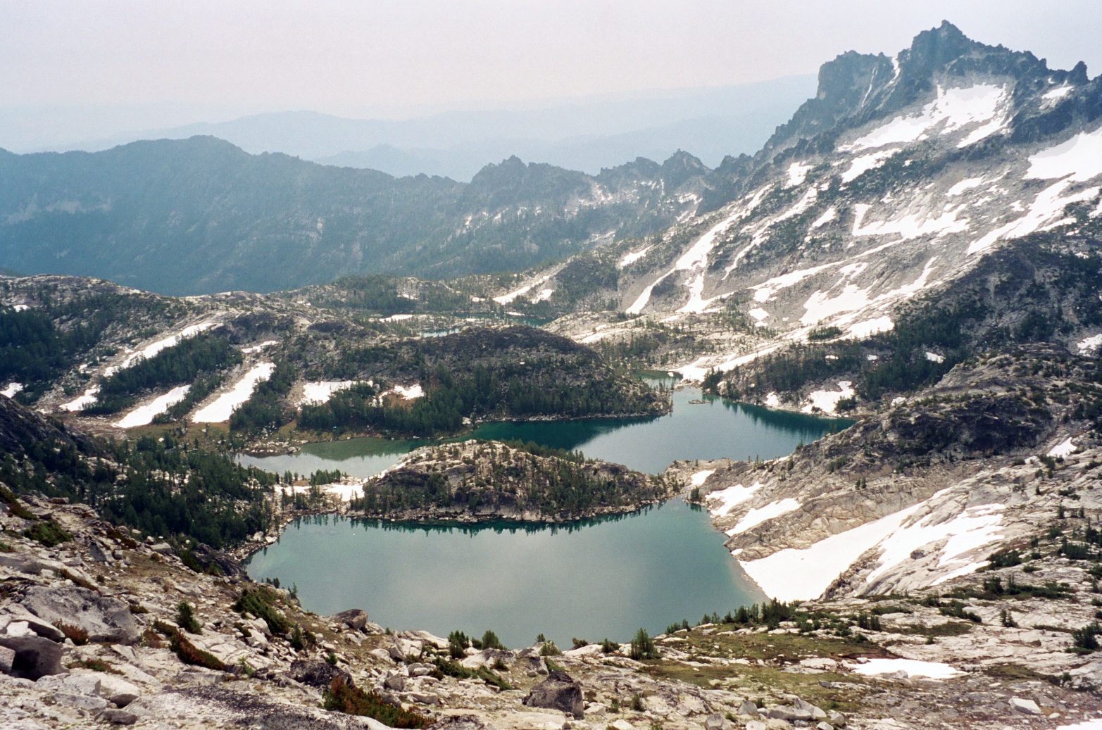 Small Garden Pictures The Enchantments Alpine Lake Wilderness Washington State