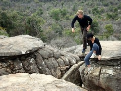 sunshine and leigh in Grampians 02