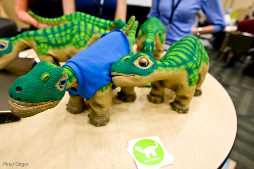 The Robotic Baby Dinosaur from UGOBE