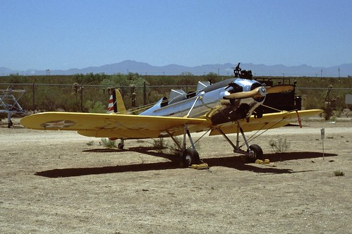 Ryan PT-22 Recruit at the Pima Air & Space Museum, 1980