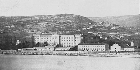 Marineakademie Fiume, 1890