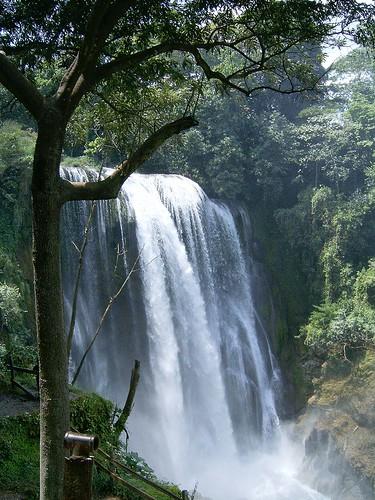 Pulhapanzak Falls on the Rio Lindo, Honduras