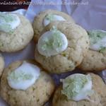 Limetten-Olivenöl-Kekse