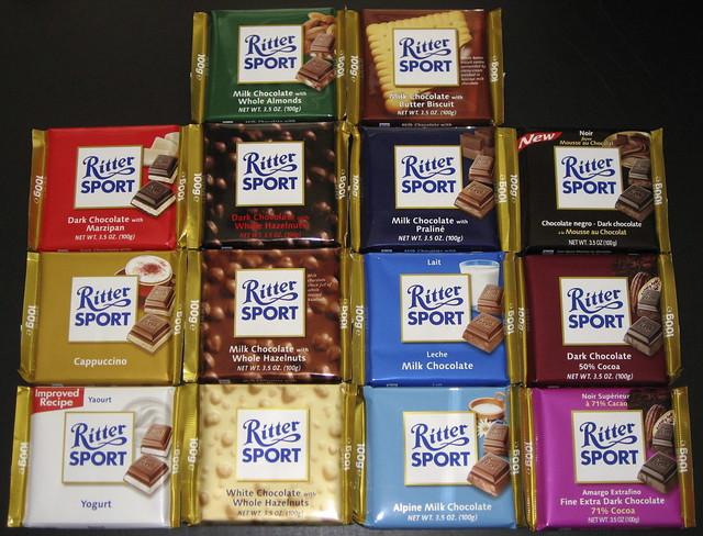 Ritter Dark Chocolate Wafer
