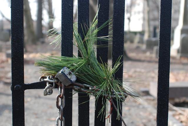 Mercer Cemetery Gate