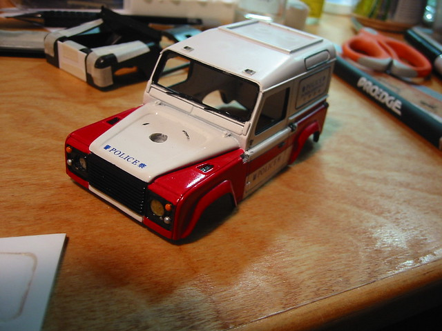 1/35 resin Land Rover Defender 90