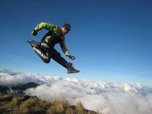 My 10,000 foot high jump!