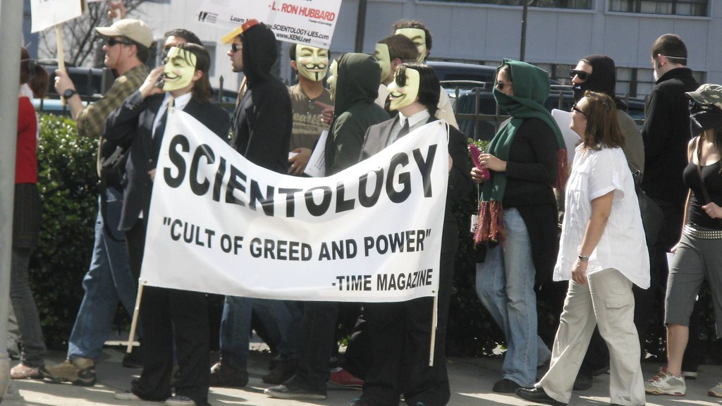 Project Chanology / Anonymous vs. Scientology / Los Angeles Feb 10