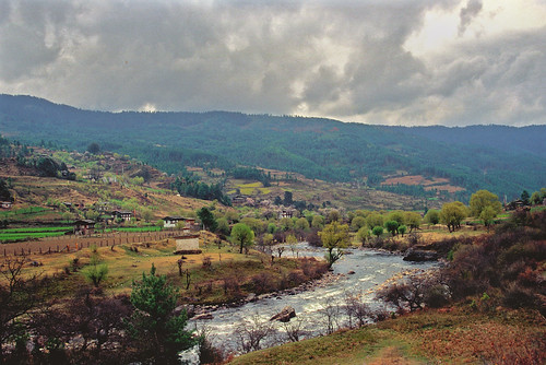 Tang valley in Bumthang district