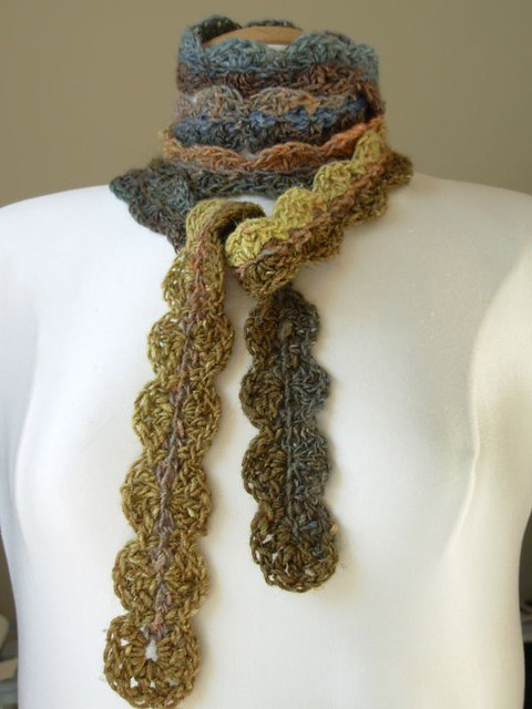 Crochet Scarf Patterns One Skein : One-Skein Noro Crochet Scarf Flickr - Photo Sharing!