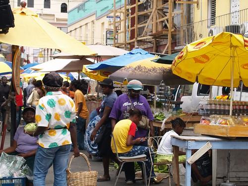Grenada town market