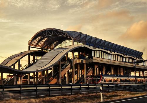 Estación de Renfe en Bahía Sur - San Fernando (Cádiz)