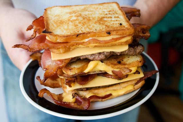 The Bacon Hamburger Fatty Melt | Flickr - Photo Sharing!