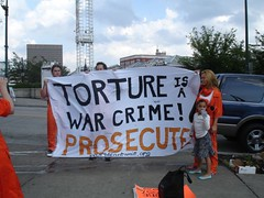 Torture is a War Crime! in Atlanta