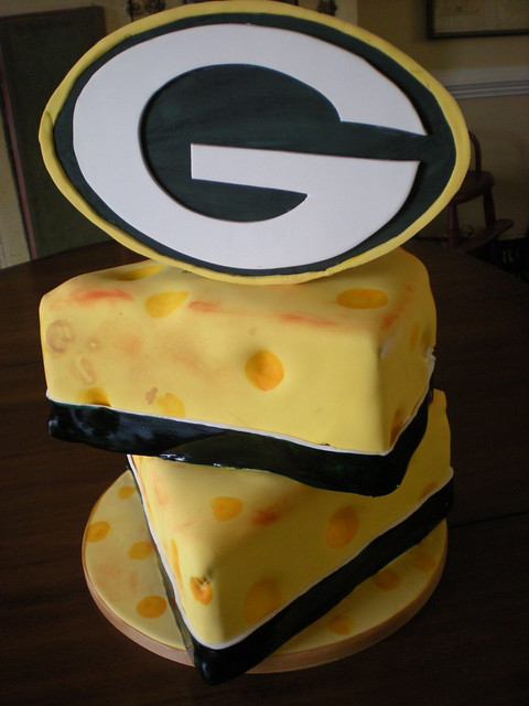 Green Bay Packers Quot Cheesehead Quot Groom S Cake Flickr